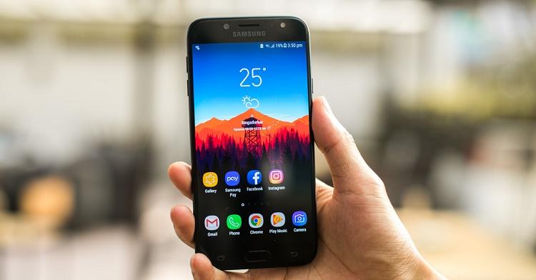 Khắc phục lỗi cảm ứng vân tay Samsung J7 Pro