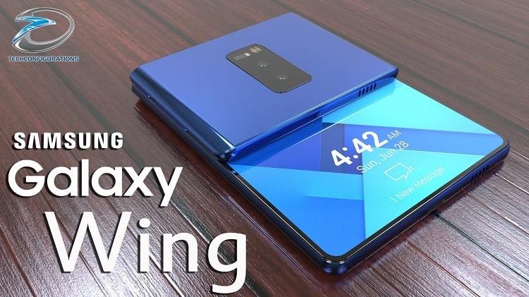 Samsung Wing sử dụng màn hình gập rất độc đáo
