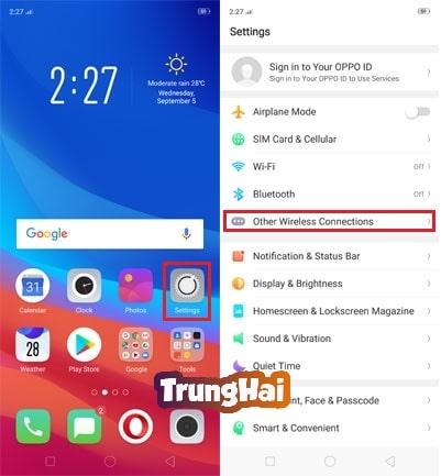 #4 Bước phát Wifi từ Oppo F9 đơn giản