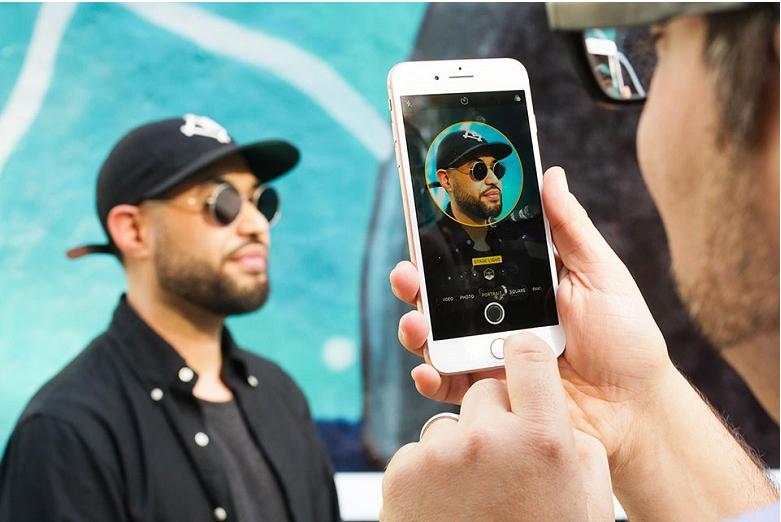 Chế độ chụp ảnh dọc trên iphone