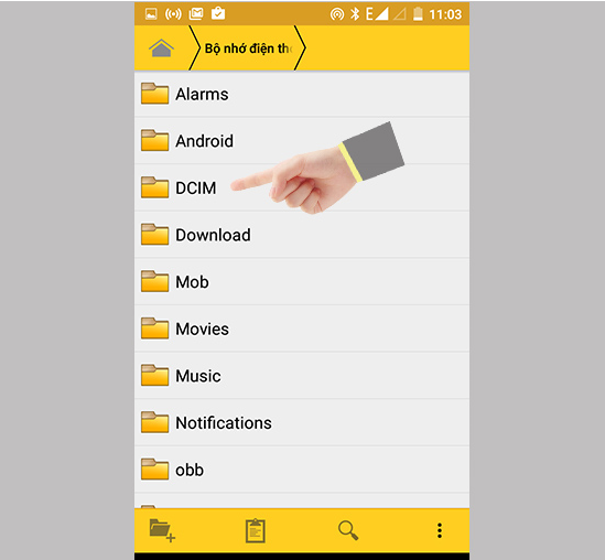 Cách khắc phục lỗi chụp ảnh không lưu được trên Android
