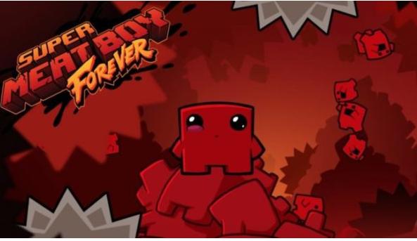 game Super Meat Boy Forever