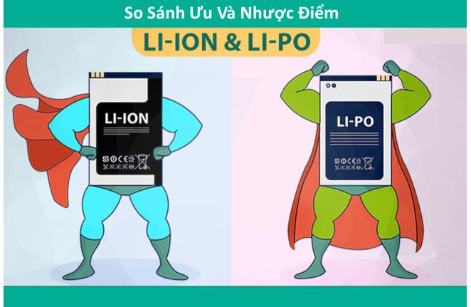 Pin Polymer và pin Lion, loại nào tốt hơn?
