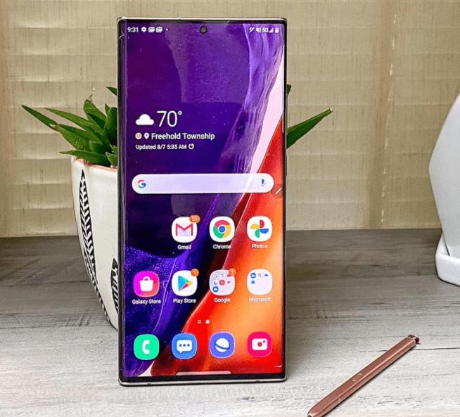 Samsung Note 20/Note 20 Ultra bị nóng máy