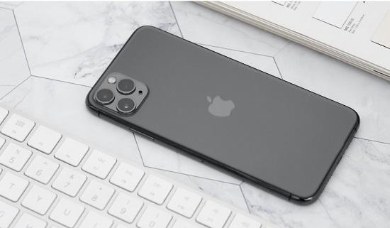 Tắt nguồn và khởi động lại iPhone 11 Pro Max