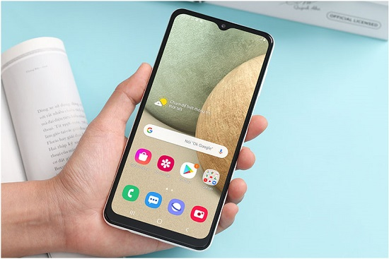 Quay màn hình điện thoại Samsung A12