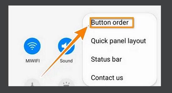 Tìm biểu tượng Quay màn hình trên Samsung A12