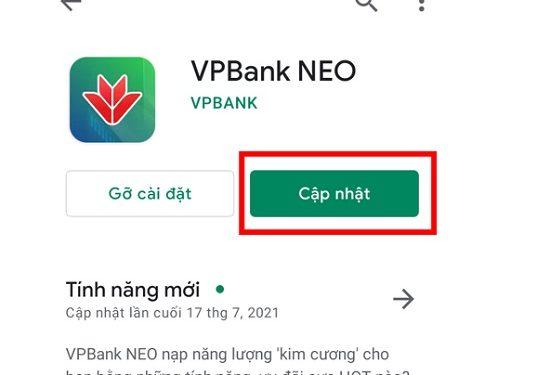 Cập nhật ứng dụng trên Android