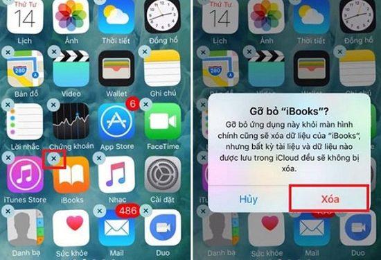 Gỡ bỏ ứng dụng lạ trên iPhone