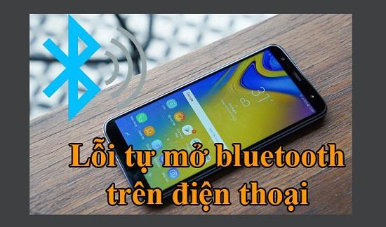 Smartphone tự mở Bluetooth