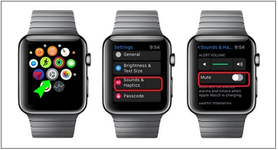 Kích hoạt âm thanh thông báo trên Apple Watch