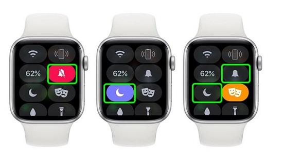 Tắt chế độ im lặng trên Apple Watch